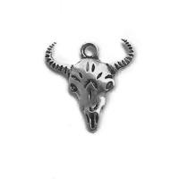 ANI004-charm-ciondoli-1129-teschio-bufalo-oath-skull 21x20