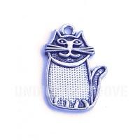 ANI016 charm ciondoli 1129 gatto cat