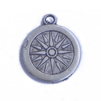 MARE004-charm-ciondoli-1129-rosa-dei-venti-bussola-compass