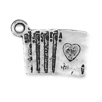 SPORT001 charm-ciondoli-1129-poker-carte gioco 18x13