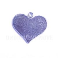 CUORE001 heart charms ciondoli cuore 1129 24x21mm