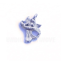 REL009 charm ciondoli 1129 angelo angel season greetings 15x21 mm
