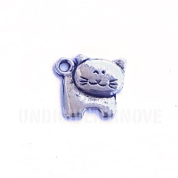 ANI017 charm ciondoli 1129 gatto cat 15x15 mm