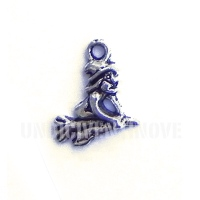 FIG004 charm befana strega witch 18x14mm