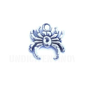 ANI021 charm ciondoli 1129 ragno spider 18x17mm