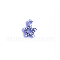 ASTRI005 charm ciondoli 1129 stellina little star 11x10 mm