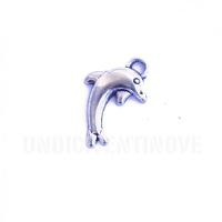 MARE007 charm ciondoli 1129 delfino dolphin 20x11 mm