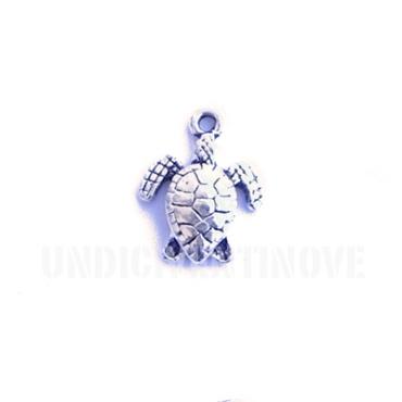 MARE008 charm ciondoli 1129 tartaruga sea turtle 16x13 mm