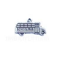 MOTO006 charm ciondoli 1129 scuola bus school bus 22x12mm