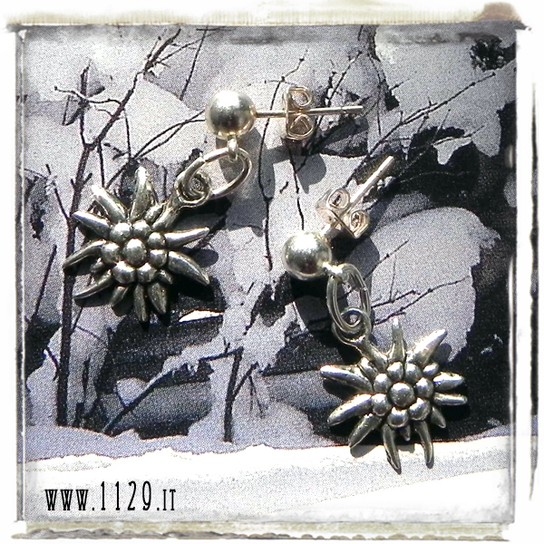 orecchini-ciondolo-argento-stella-alpina-fiore-alpine-flower-silver-charm-earrings-1129