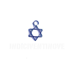 REL011-charm-ciondoli-1129-stella-david-ebraismo-cabala 13x10mm
