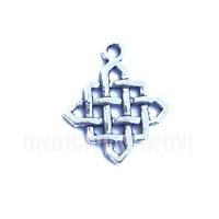 SIMB012 charm nodo celtico celtic knot 25x21mm